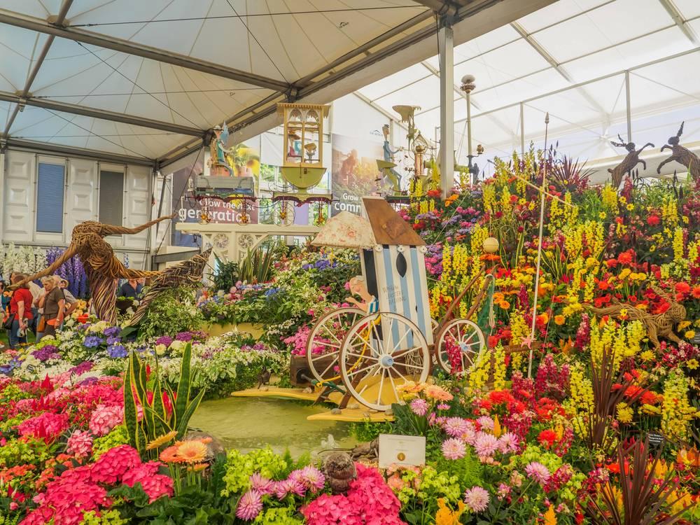 landscaping in radley - RHS Chelsea Flower Show