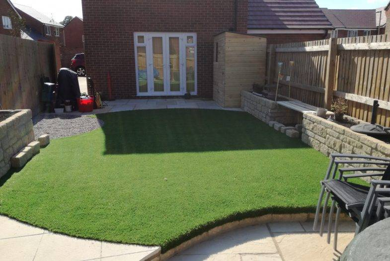 Completed South Abingdon Garden