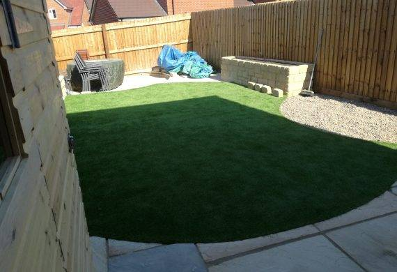 South Abingdon Suburban Garden Completed