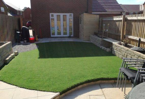 South Abingdon Suburban Garden Build Completed