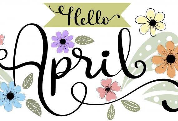 April-garden
