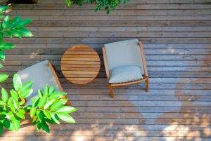 Small Garden Design Seating